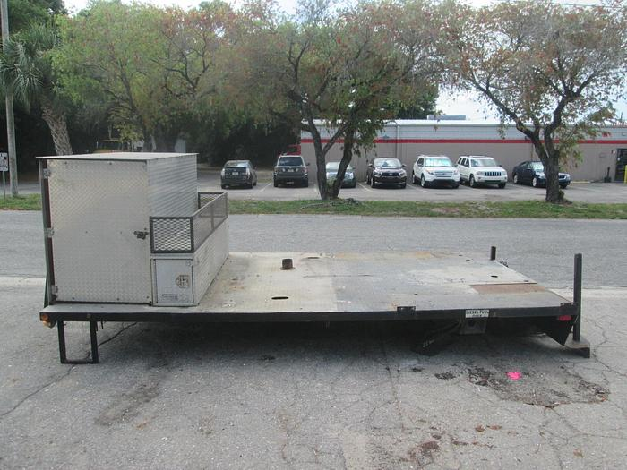 Used 8'x14' Flatbed Truck Bed with Toolbox