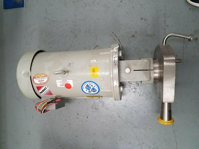 Used Fristam 7-1/2 HP Liquid Pump Model #FPX722001747 Stainless Steel Dairy Medical