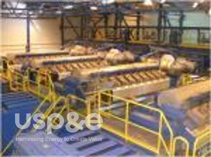 Used 40 MW 2009 Used Wartsila 20V34SG Natural Gas Power Plant