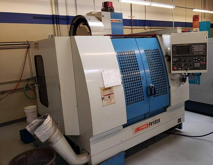 Used CNC Supermax FV102A VMC