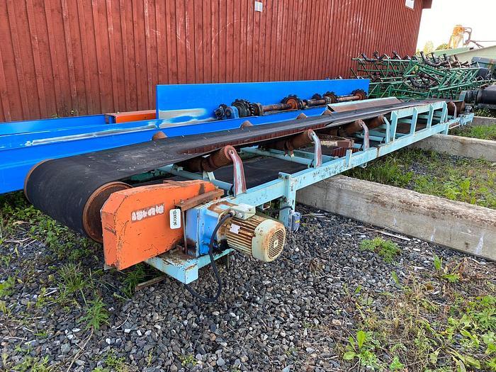 Used Hedlund, Belt conveyor with metal detector ABB