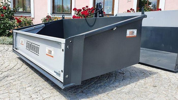 Transportbox / Kippmulde Leichtgut 200 cm