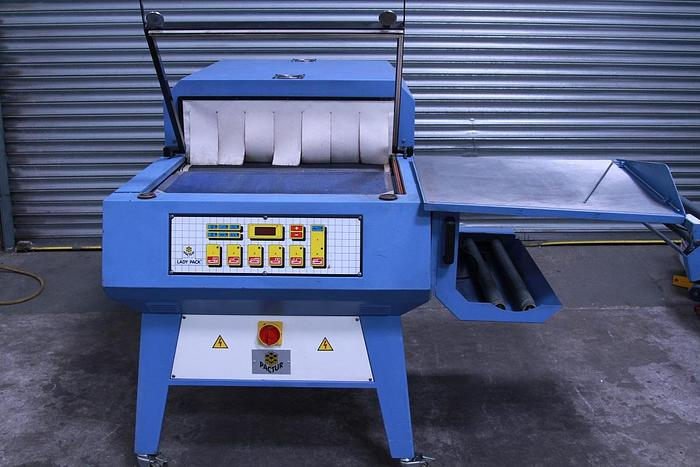 Used Ladypack 80/S2 L Sealer and Heat Tunnel Shrink Wrap Machine