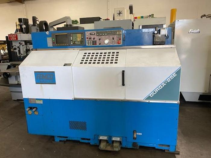 FEMCO DURGA 25E CNC TURNING CENTER LATHE
