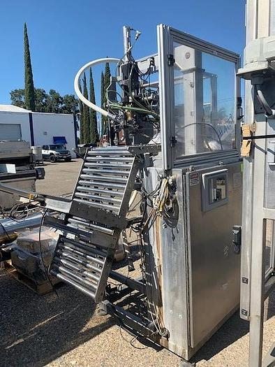 Used 2006 High Speed Filler A-Scholle Auto Bag In a Box   AF-12E