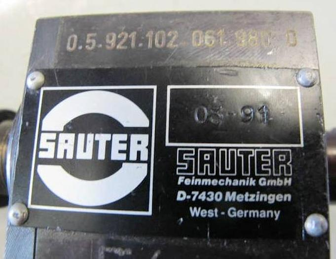 SAUTER angetr. WZ VDI 20 / 0.5.921.102-061.980 0
