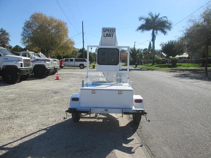 Used Portable Radar Speed Indicator Trailer