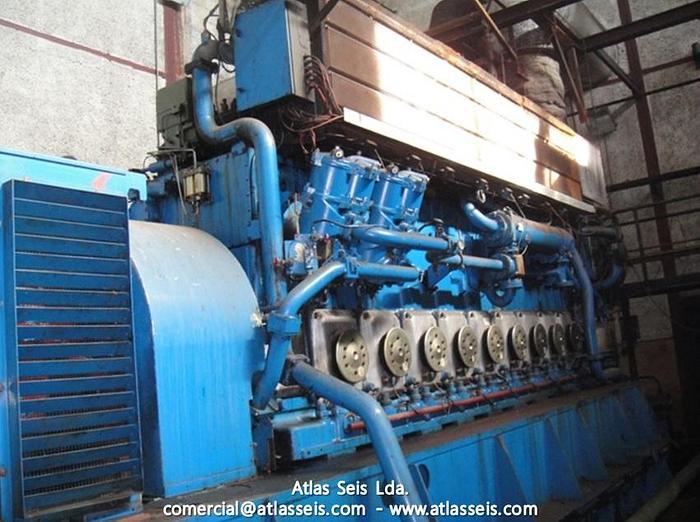 6.5 MW HFO Power Plant Wartsila 9R32