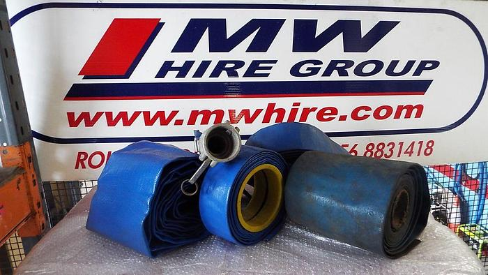 Used Lay-flat Hosing 3″to 8″
