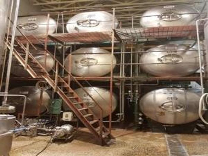 Used 11000L / 2900Gal storage tanks