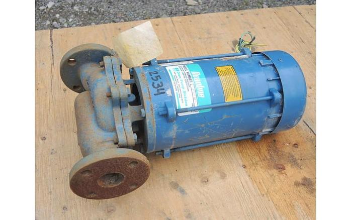 """USED CENTRIFUGAL PUMP, 1.5"""" X 1.5"""" INLET & OUTLET, CAST IRON"""