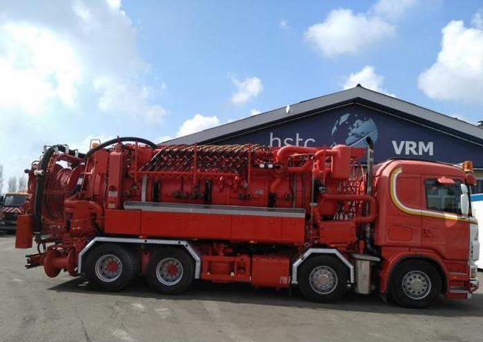 Gebruikt 2004 SCANIA + Helmers recycler 164 G