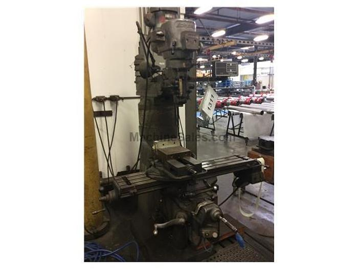 Bridgeport Model Series 1 Vertical Milling Machine