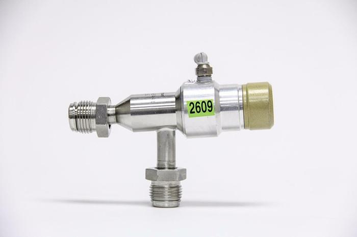 Used Huntington PV-053-H441 Pneumatic Right Angle Valve (2609)