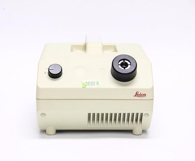 Used Leica Schott KL 750 Fiber Optic Light Source-Source Only (2690A)