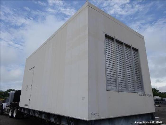1.5 MW 2001 Used Cummins 1500DFLE Diesel Generator