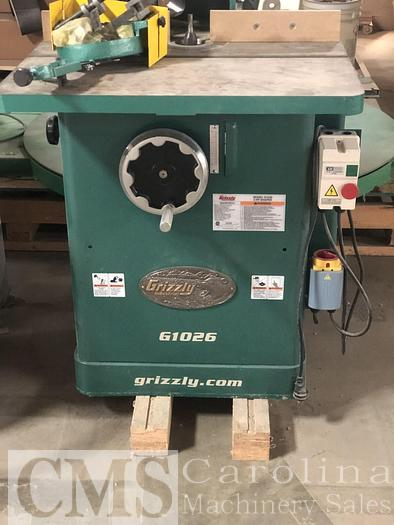 Used Grizzly G1026 3 HP Shaper