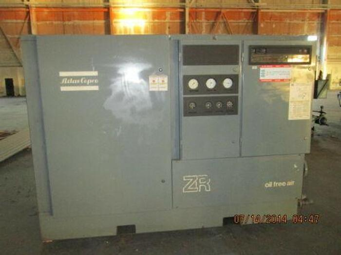 Used ATLAS COPCO MDL. ZR-4C-ARR 250 H.P. OIL FREE AIR COMPRESSOR ONLY 2800 LOAD H