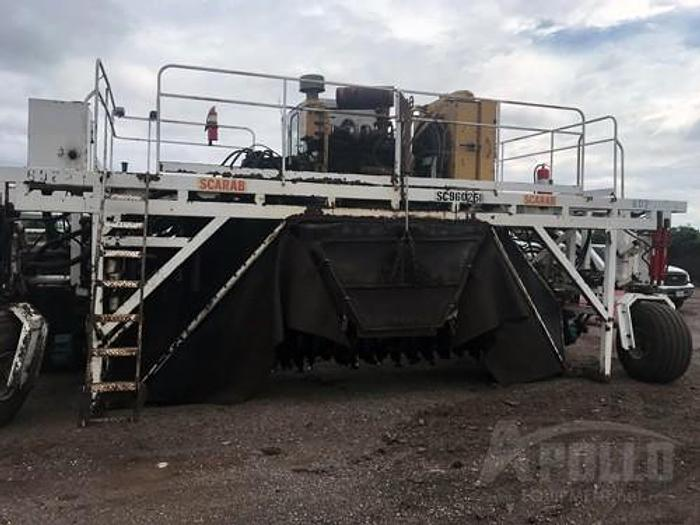 Used 1996 Scarab 20x7HYD-460-RT Compost Turner