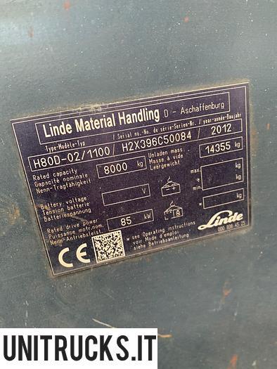Usata 2012 LINDE H80D-02/1100