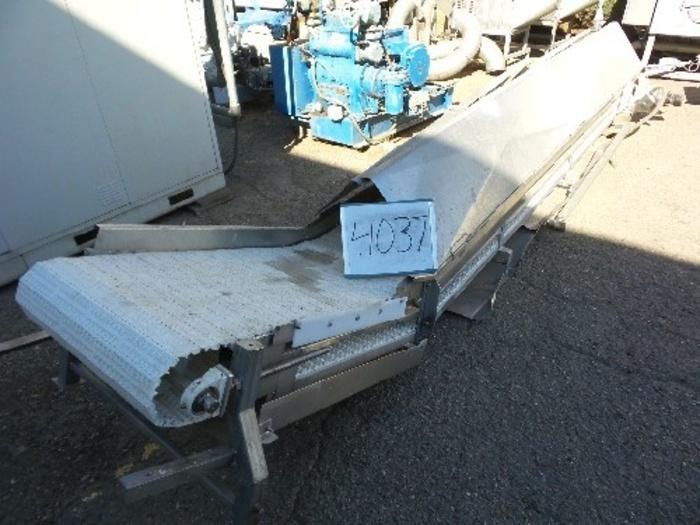 Intralox Elevating Conveyor 24'' Wide x 18' Long #4037