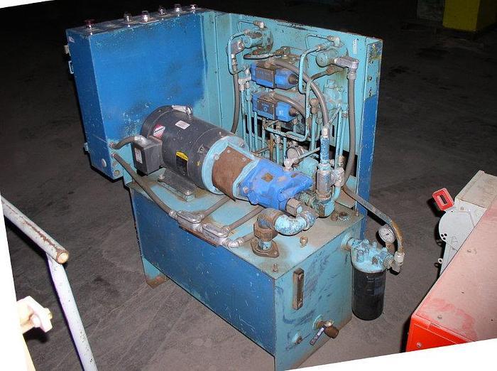 Used 10 HP Paul Monroe Model 1H9367 Hydraulic Unit