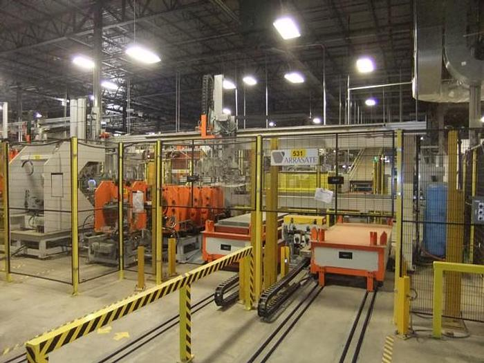 Used 2014 Fagor Arrasate Automated Cabinet Production Line