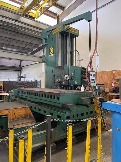 """Used Giddings & Lewis 70-G5T Horizontal Boring Mill 5"""" Bar"""