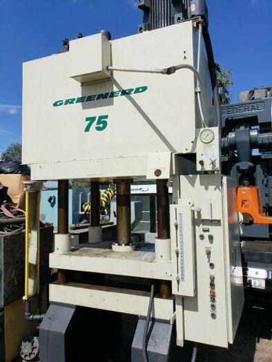 """1999 GREENARD 75 TON HYDRAULIC PRESS 36"""" X 30"""" MODEL 4D-75-36X30-75R37.5"""