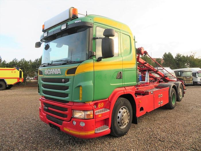 Meget god 2012 Scania G440 6x2*4 HMF Hejs Euro 5 SCR