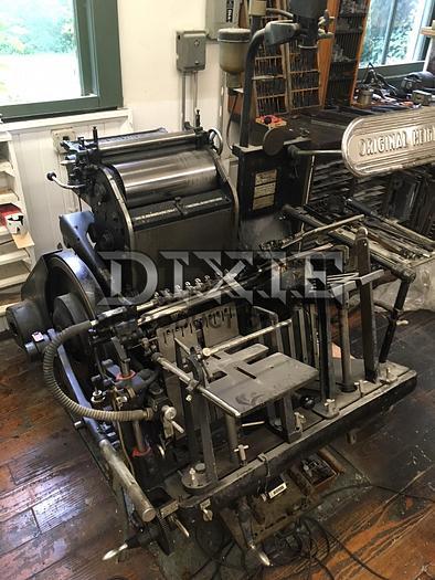 Used Heidelberg Windmill Press