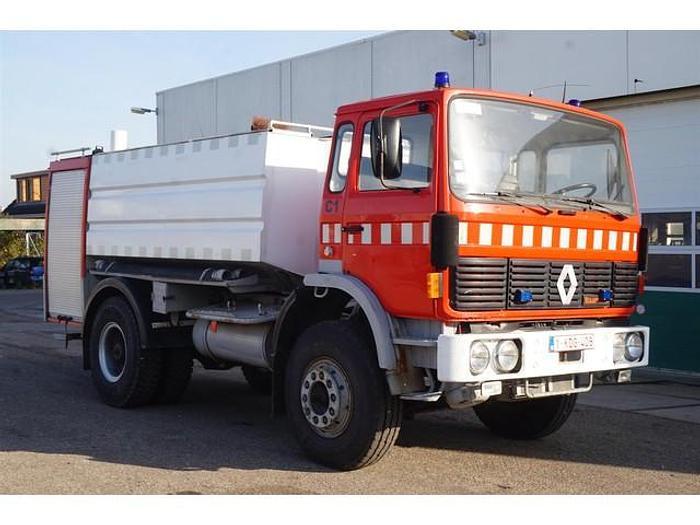 Used 1982 Renault CA 07 C1 Midliner / 4x2 / Fire Truck / 7.000Ltr / Steel suspension / 64.000 km / Full steel suspension
