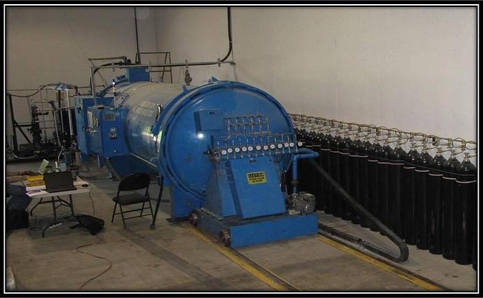 "WSF/Amercican Autoclave 5'6"" dia x 19' 6"" long"