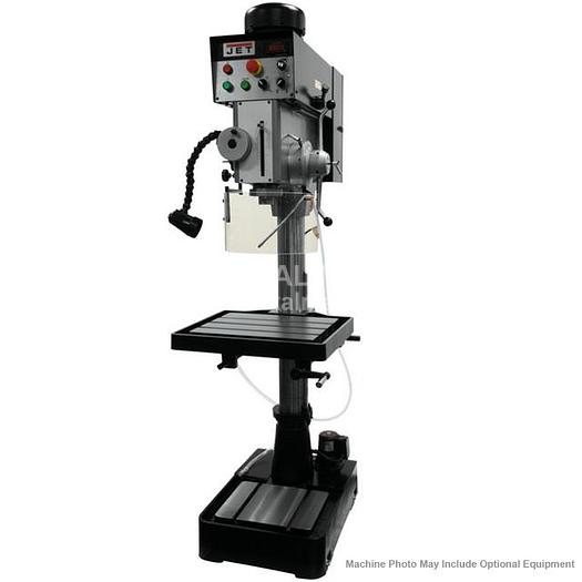 JET JDP20EVST-230-PDF EVS Gear Head Drill Press with Powerfeed 230V 354245