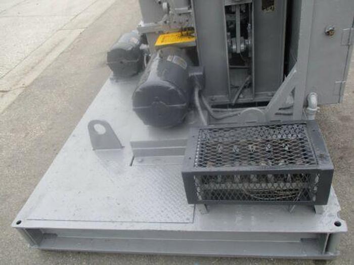 WEBB MODEL 7L-1108 INITIAL PINCH ROLLS 1/2 INCH X 8 FOOT PYRAMID BENDING ROLLS