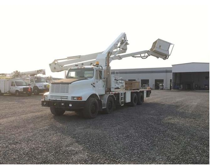Used 2002 International 2674 Aspen Aerials UB50 Bridge Inspection Bucket Truck - M50123