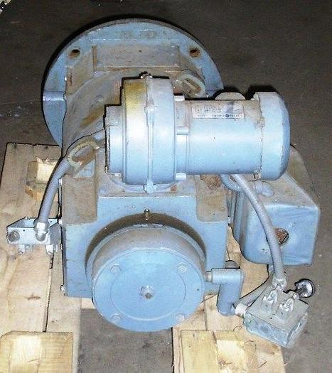 40 HP General Electric DC Motor 240 Volts 2500/3000 RPM Type CD287ATB: Model # 5CD173X0007A001