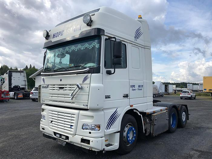 2004 DAF 95 XF 480  6x2  MANUAL EURO 4