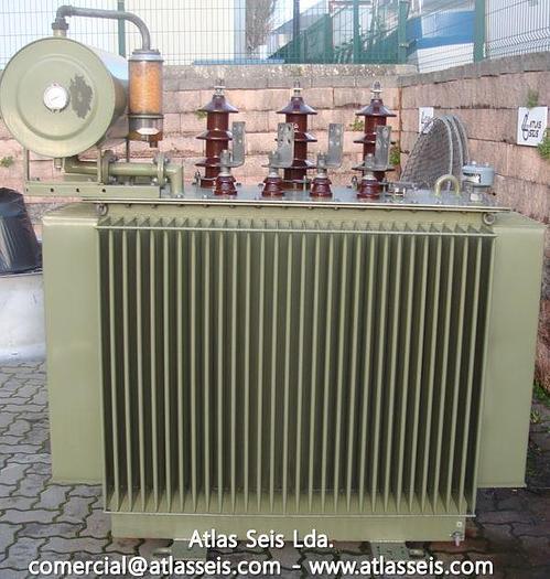 Used Strömberg Oil-type Transformer KTMU 24 NA 630 kVA / 15000 V to 400 V / 50 Hz