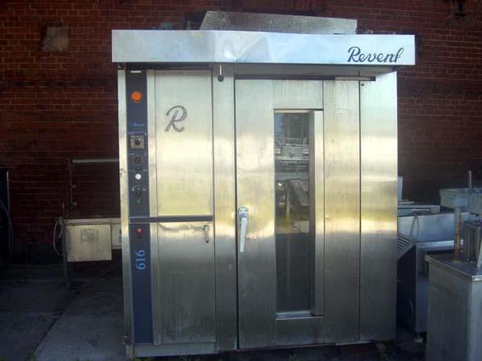"""Używane Piec piekarniczy obrotowy, elektryczny, 1-wózkowy (2 wielkości) - """"Revent"""""""