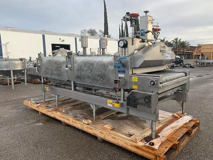 Used Cryo  Quick Air Products Stainless Steel Nitrogen Freeze Spray Tunnel