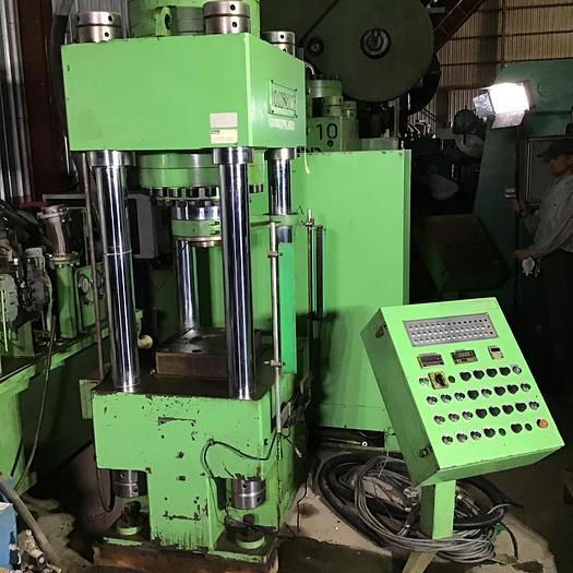 Used 300 Ton Dongsung Hydraulic 4-Post Press