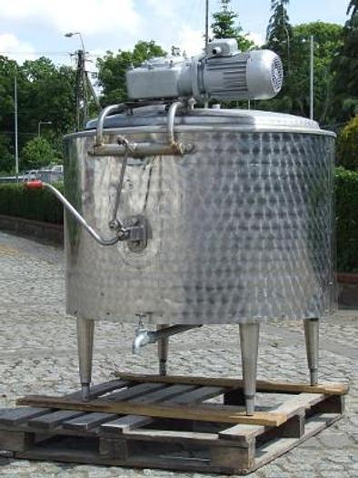 Używane Zbiornik procesowy 350 l