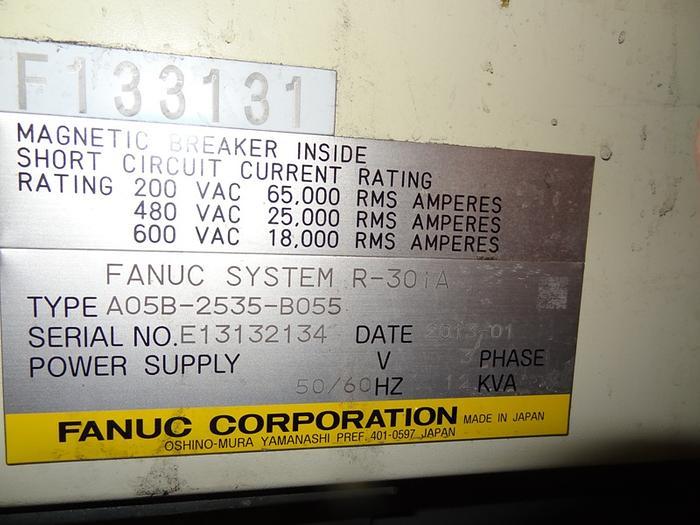 2013 FANUC R2000iB/210F