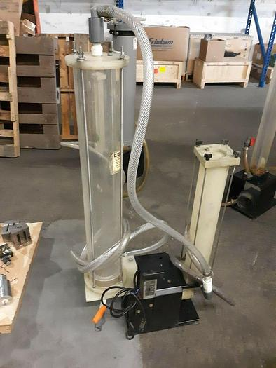 Used Technic Column Filter with Pump Plating Tank Chemical Filtering