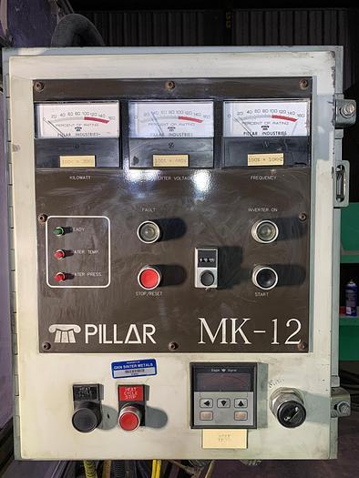 30 KW, Pillar MK-12 Induction Hardening Machine; S/N 3610