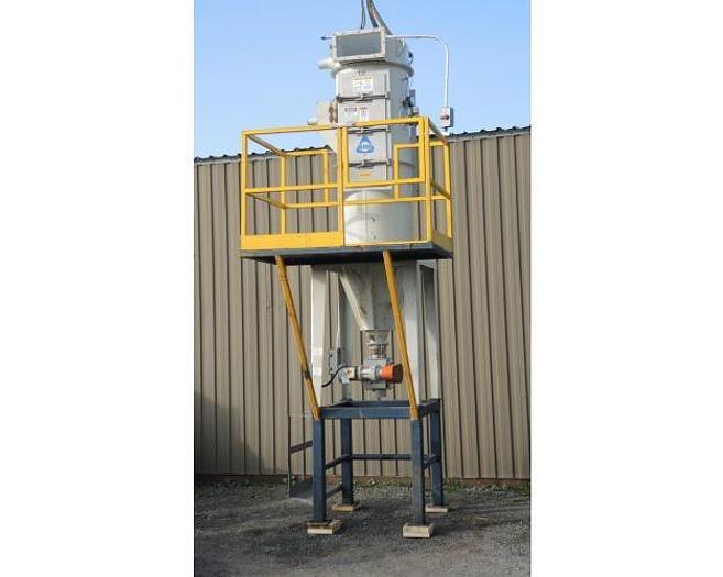 Used USED DUST COLLECTOR, PULSE AIR, 85 SQ. FT. OF CLOTH