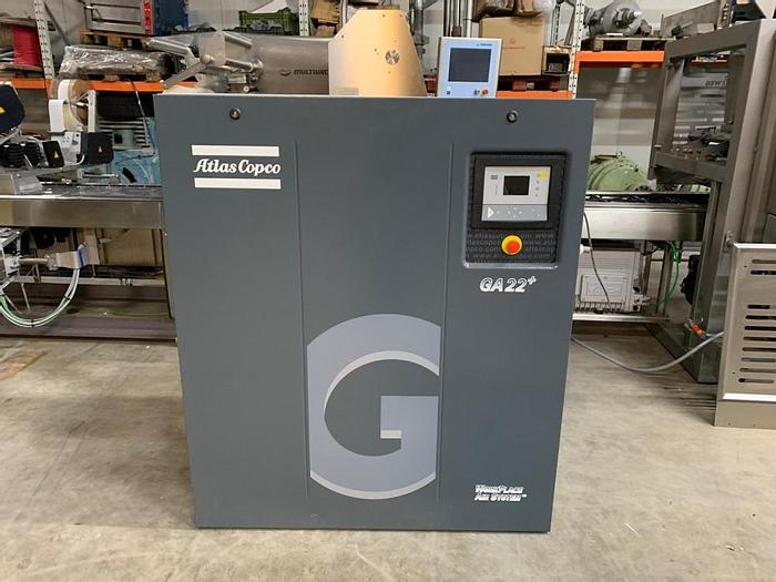 Used Atlas Copco GA22+ air compressor