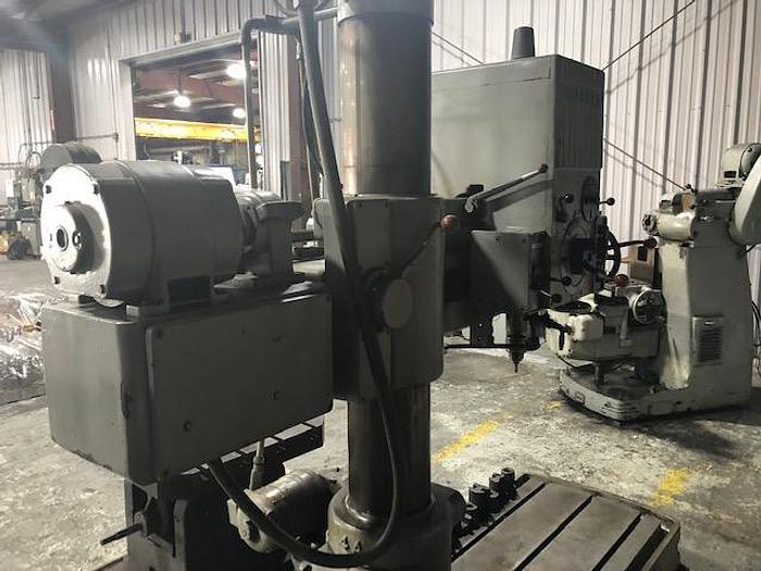 Cincinnati Gilbert  4 ft Radial Arm Drill