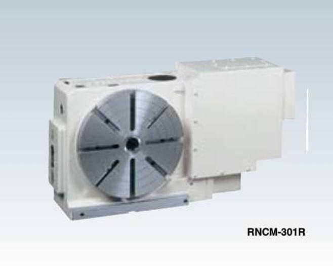 """Used 12"""" Tsudakoma Model RNCM-301R CNC Rotary Table; Mfg. 2001"""